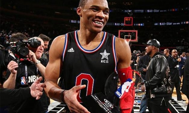 Russell Westbrook es el MVP del All Star Game con 41 puntos