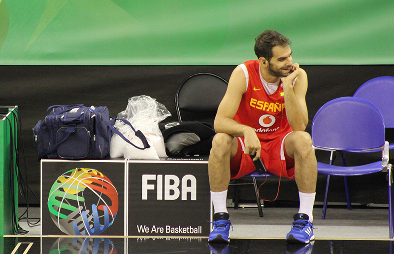When spanish basketball lost his smile