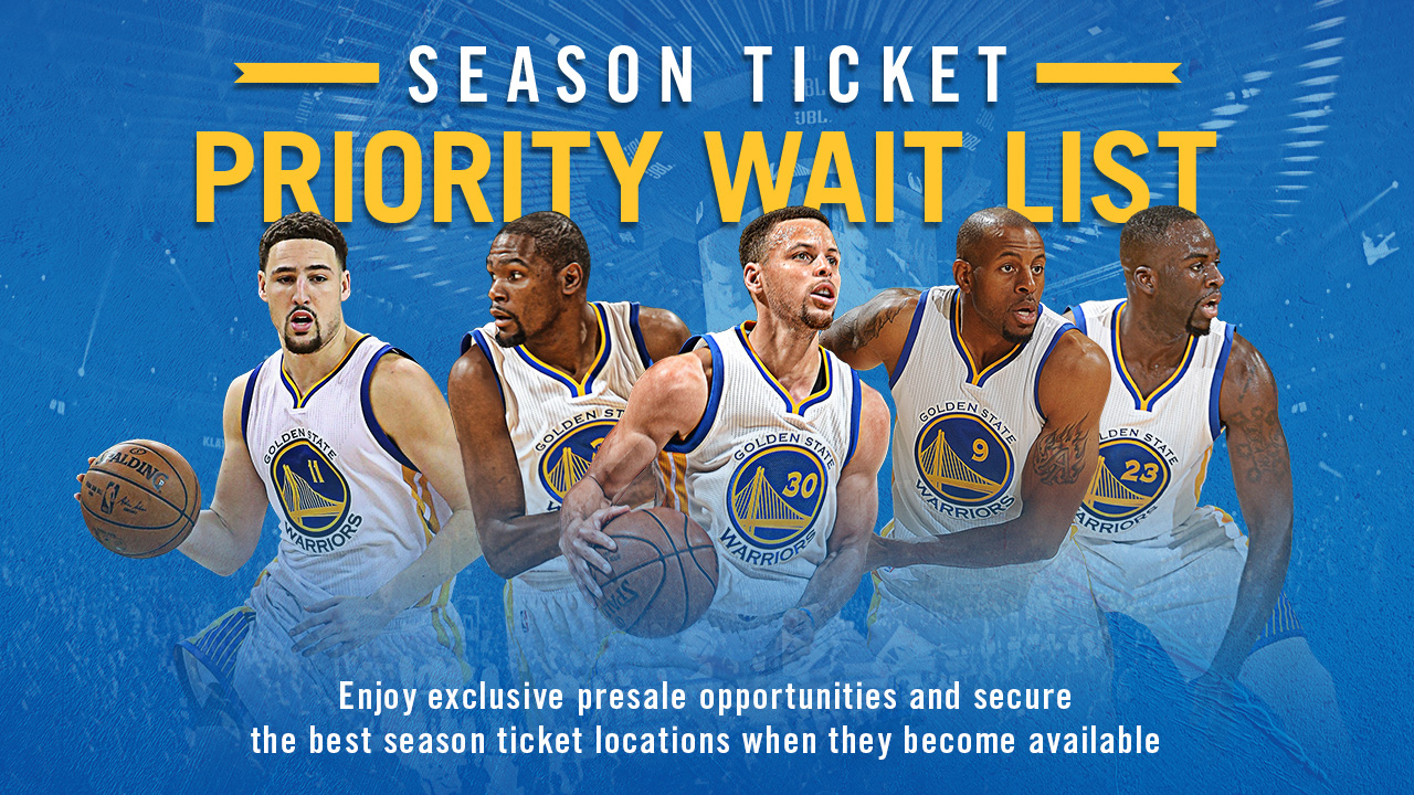 PrioritySeasonTicketsWaitListWarriors