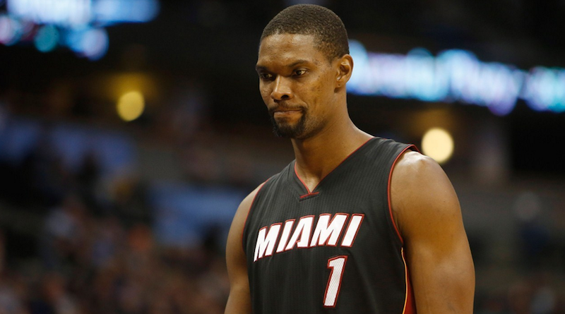 Pat Riley condena a Chris Bosh con los Heat