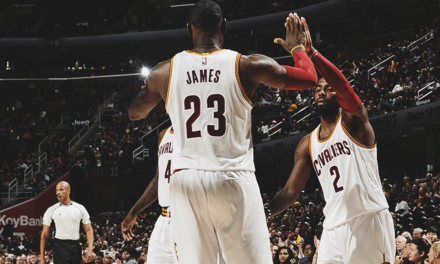 LeBron James y Kyrie Irving ya carburan en pretemporada