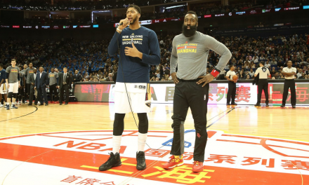 James Harden y Anthony Davis se citan en Shanghai