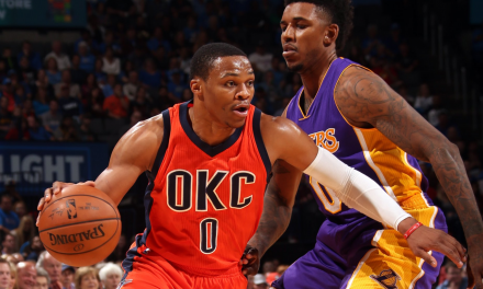 Russell Westbrook continúa imparable, otro triple-doble
