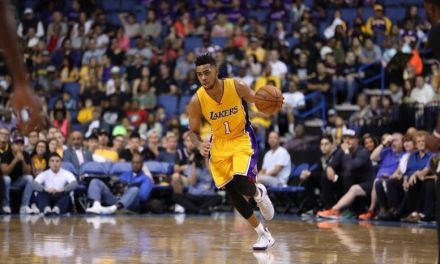 D'Angelo Russell, imparable con 33 puntos frente a Denver