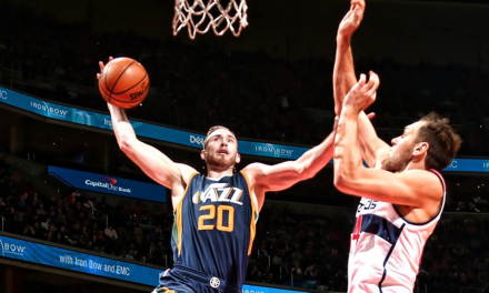 Gordon Hayward se inspira en Washington