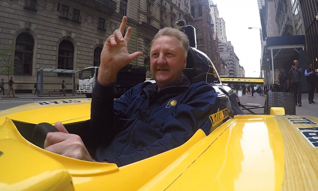 Larry Bird se despide de Indiana Pacers