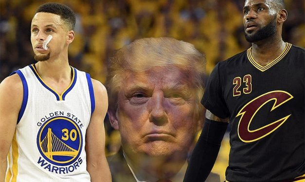 James y Curry no visitarán a Donald Trump si son campeones