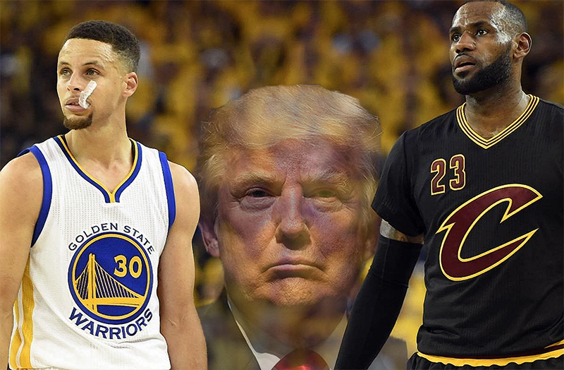 Cavs and Warriors will not go to the White House if they win NBA Finals